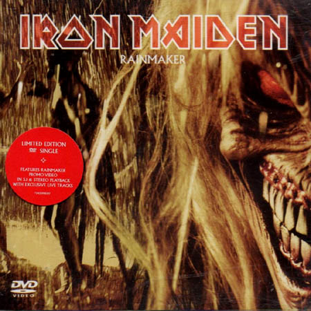 DVD - Iron Maiden Rainmaker