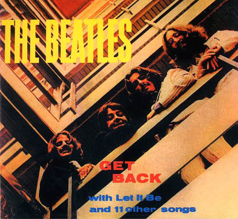 CD - Beatles Get Back With Let It Be And 11 Other Songs