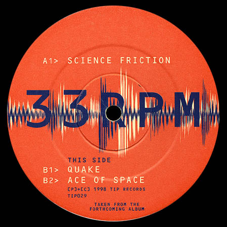 12inch - Synchro Science Friction