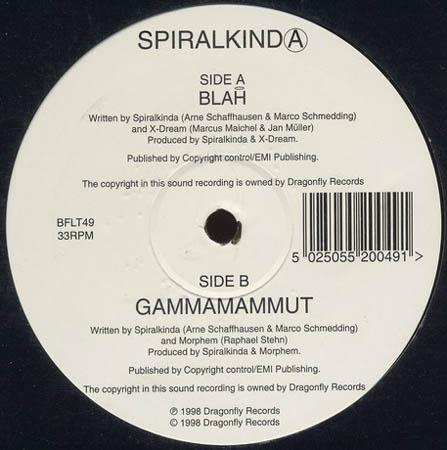 12inch - Spiralkinda Blah / Gammamammut