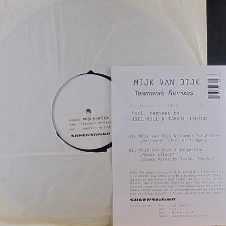 12inch - Van Dijk, Mijk Teamwork Remixes