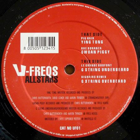 12inch - Various Artists U-Freqs Allstars Vol. I
