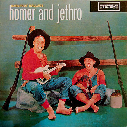 LP - Homer And Jethro Barefoot Ballads