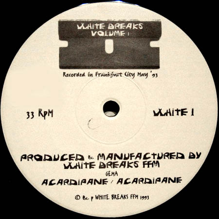 12inch - White Breaks Volume I
