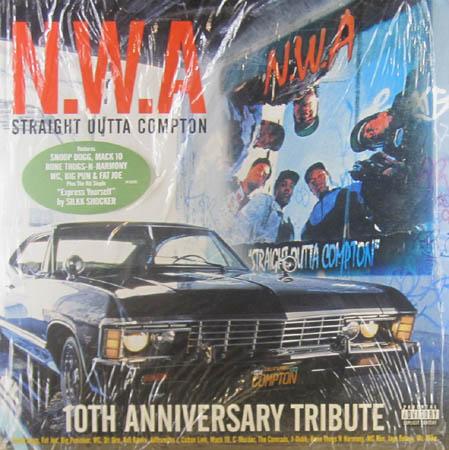 2LP - NWA Straight Outta Compton - 10th Anniversary Edition