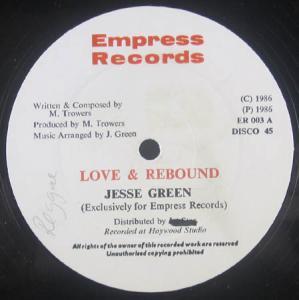 12inch - Green, Jesse Love & Rebound / Dubbing With Marge