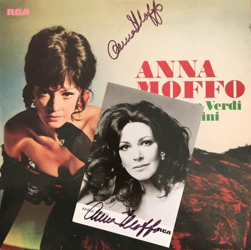 LP - Moffo, Anna Arien Von Verdi Und Puccini