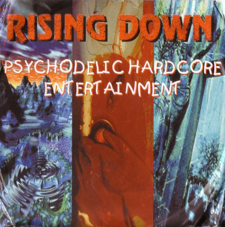 CD - Rising Down Psychodelic Hardcore Entertainment