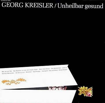 LP - Kreisler, Georg Unheilbar Gesund