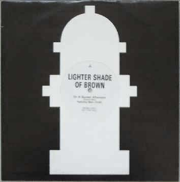 12inch - A Lighter Shade Of Brown On A Sunday Afternoon