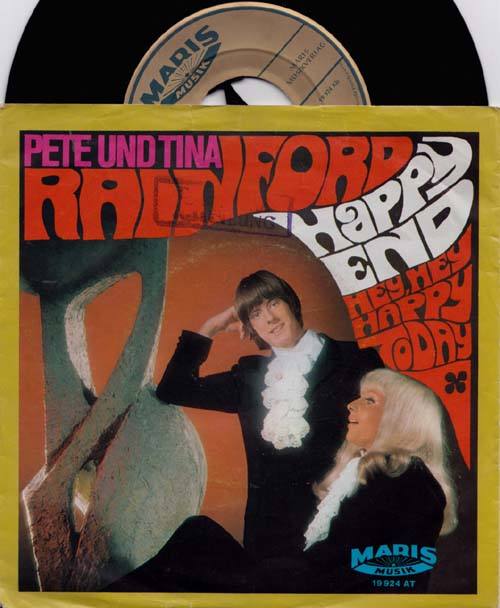 7inch - Rainford, Pete And Tina Happy End