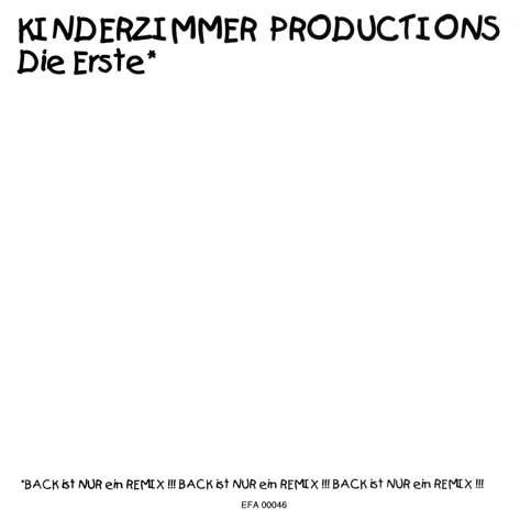 CD - Kinderzimmer Productions Die Erste