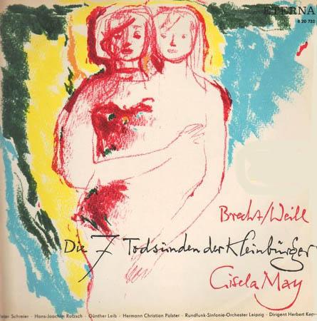 LP - Brecht, Bertolt / Kurt Weill Die 7 Tods