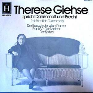 LP - Giehse, Therese Therese Giehse Spricht D