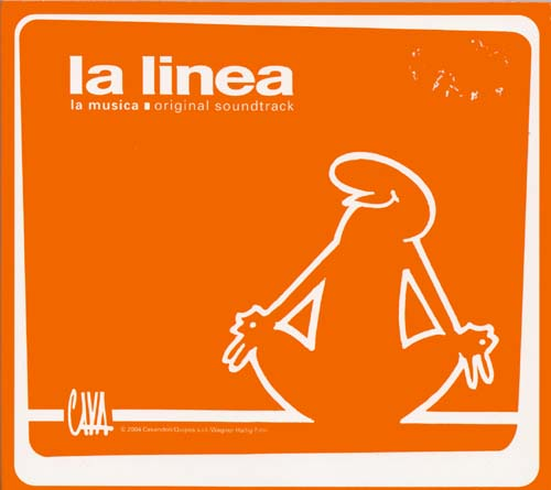 CD - Soundtrack La Linea