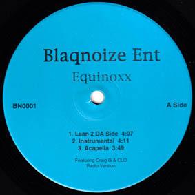 12inch - Equinoxx Lean 2 Da Side