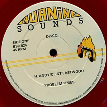 12inch - Andy, Horace & Clint Eastwood / Cornell Campbell Problem Times / Give Me Your Love