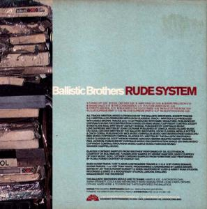 CD - Ballistic Brothers Rude System