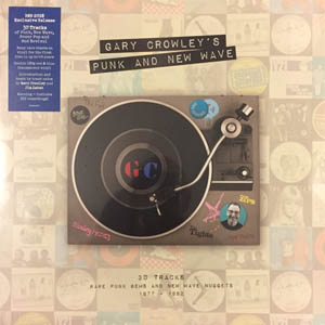 2LP - Various Artists Gary Crowley's Punk And New Wave