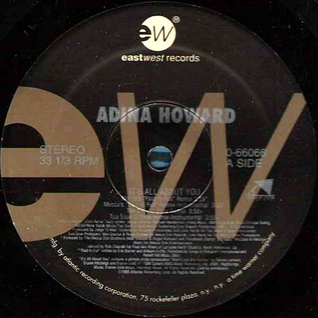 12inch - Howard, Adina It's All About You