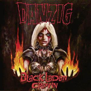 LP - Danzig Black Laden Crown