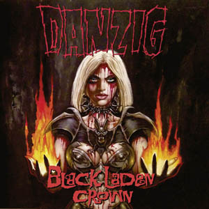LP - Danzig Black Laden Crown