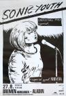 Memorabilia - Sonic Youth / Nirvana Concert Poster