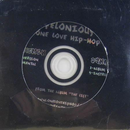 CD:Single - Felonious Plasticmen / Dynamic