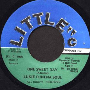7inch - Lukie D. & Nena Soul Wailers Sound Tract / Fully Licence
