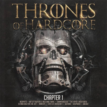 2CD - Various Artists Thrones Of Hardcore Chapter 1