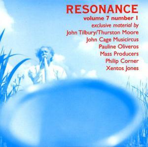 CD - Various Artists Resonance Volume 7 Number 1