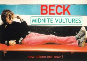 Memorabilia - Beck Midnite Vultures - Postcard