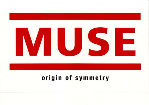 Memorabilia - Muse Sticker