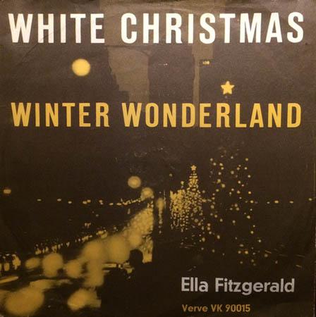 7inch - Fitzgerald, Ella White Christmas