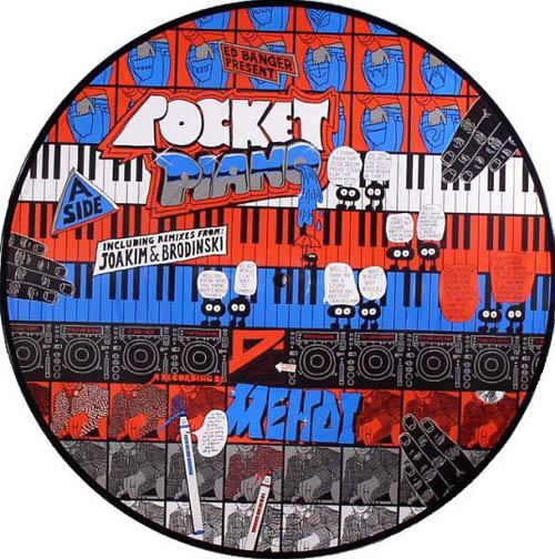 12inch - DJ Mehdi Pocket Piano