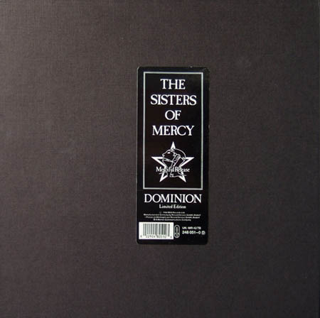 12inch - Sisters Of Mercy Dominion