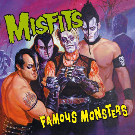 CD - Misfits Famous Monsters