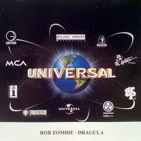 CD:Single - Rob Zombie Dragula