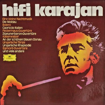 5LP - Karajan, Herbert von Und Die Berliner Philharmoniker Hifi Karajan