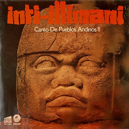 LP - Inti-Illimani Canto De Pueblos Andinos 1