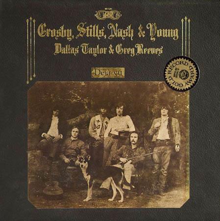 LP - Crosby, Stills, Nash & Young Deja Vu