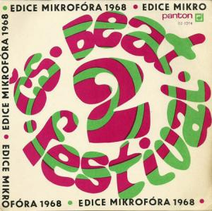 7inch - Various Artists 2. Ceskoslovensky Beat-Festival