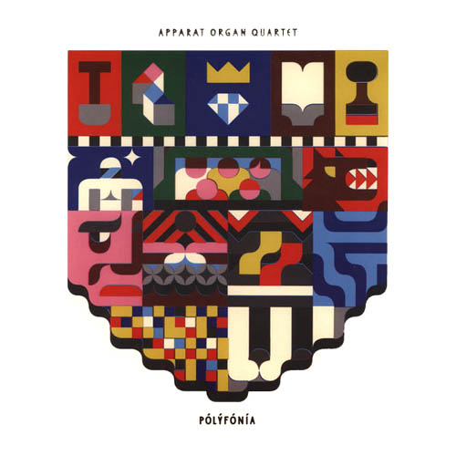 LP - Apparat Organ Quartet Polyfonia - White Vinyl Edition
