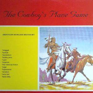 LP - Various Artists The Cowboy's Plane Game