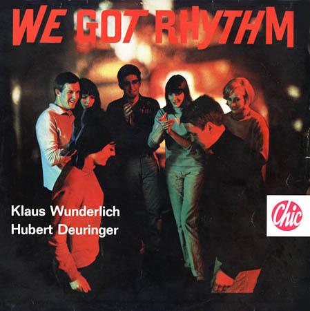 LP - Wunderlich, Klaus / Hubert Deuringer We Got Rhythm