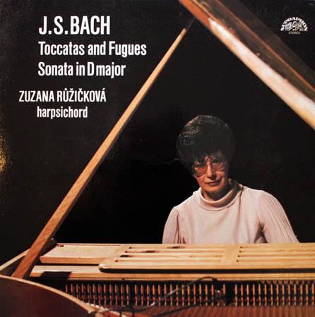 2LP - Bach, Johann Sebastian Toccatas And Fugues / Sonata In D Major