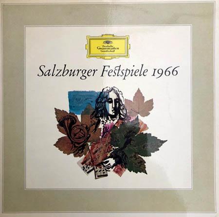 LP - Various Artists Salzburger Festspiele 1966