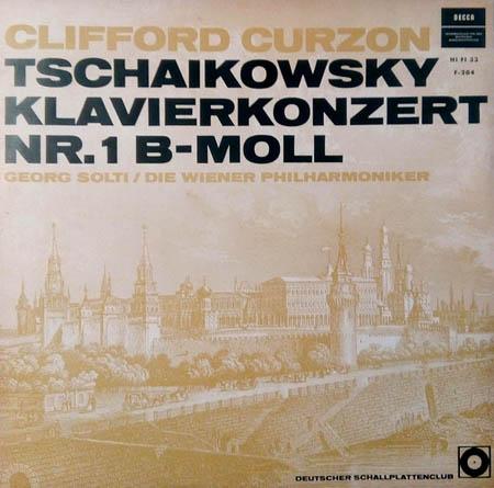 LP - Tschaikowsky, Peter Klavierkonzert Nr. 1 B-Moll