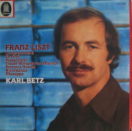 LP - Liszt, Franz Die Trauergondel II