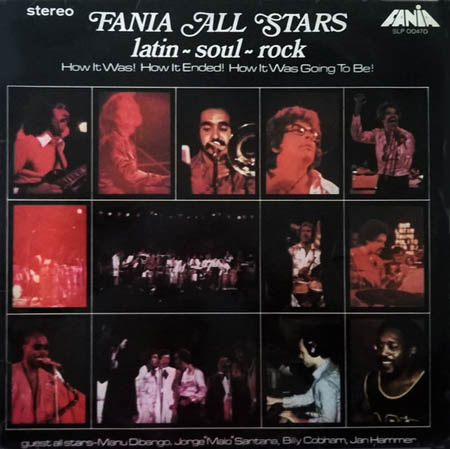 LP - Fania All Stars Latin-Soul-Rock